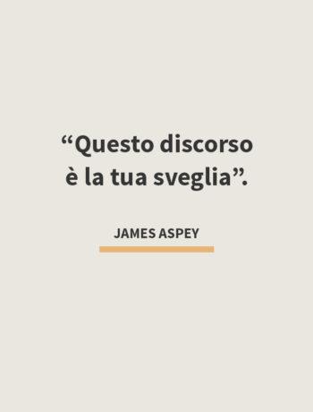 JamesAspey - Questo Discorso è la tua sveglia