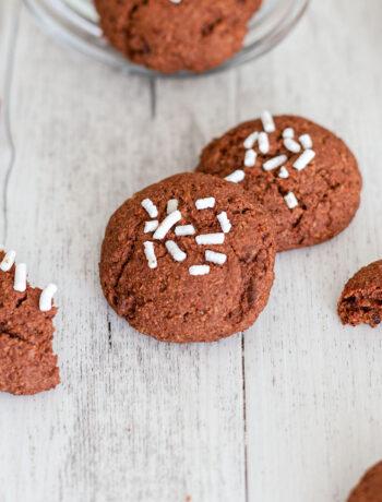 Biscotti con okara di soia al cacao