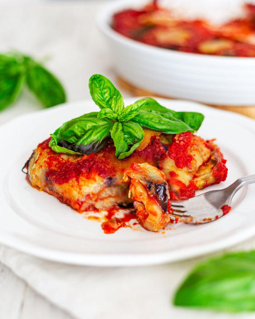 Parmigiana vegana di melanzane ricetta classica