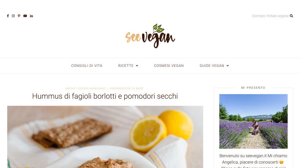 Seevegan.it blog di cucina vegana e notizie del mondo vegan